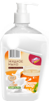 Жидкое мыло для рук Бирюса Молоко и мёд 500 г, флакон
