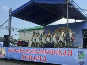 Ярмарка в р.п. Колывань, Новосибирская область